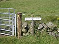 Kissing gate and signpost - geograph.org.uk - 921523.jpg