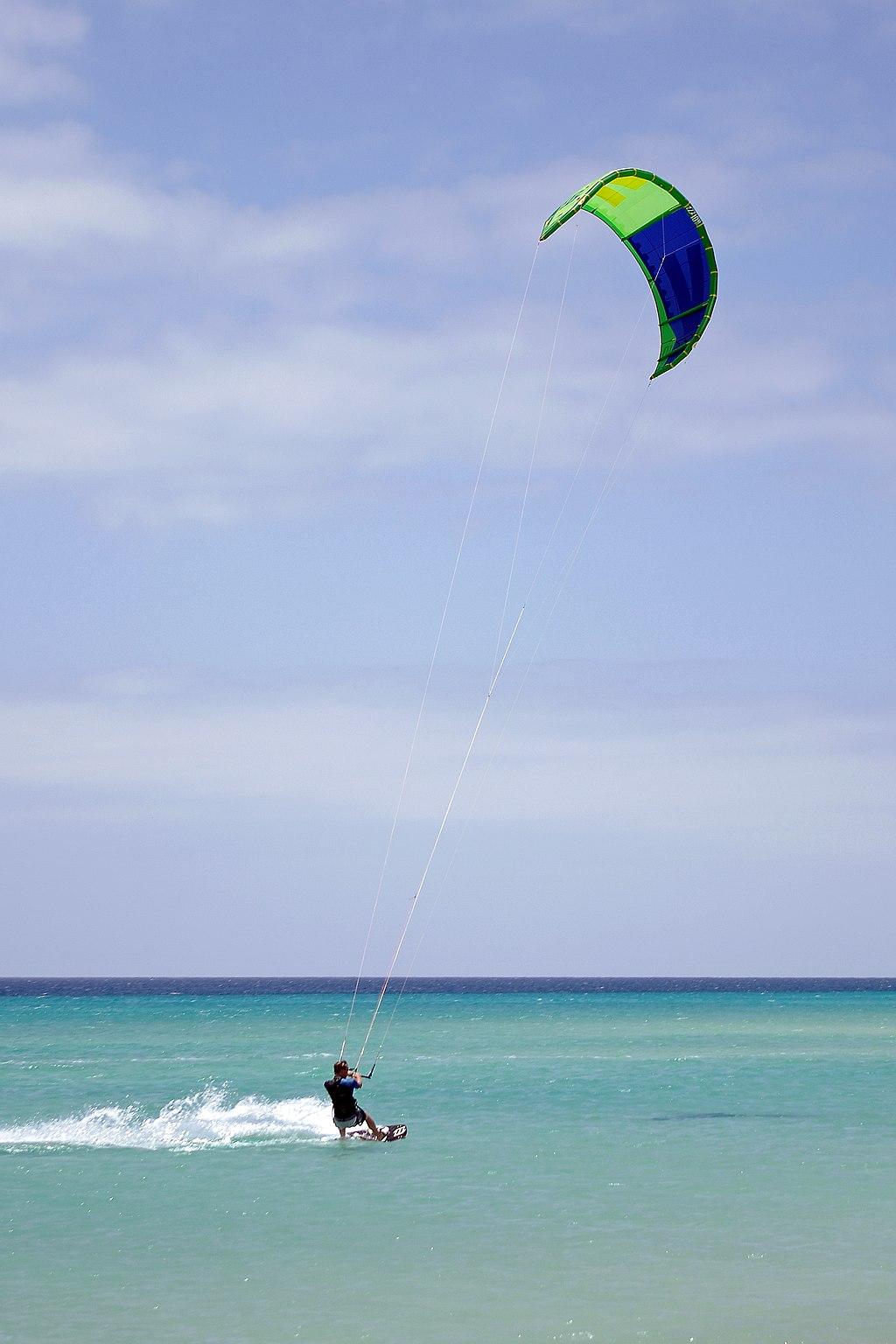 Kitesurfing Sotavento