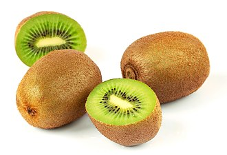 Berry (botany) - Kiwifruit, a berry derived from a compound (many carpellate) superior ovary
