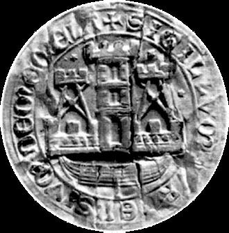 Coat of arms of Klaipėda - Image: Klaipėda seal