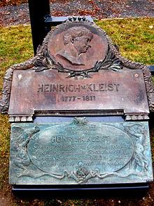 Detail des obigen neuen Dresdner Kleistdenkmals (Quelle: Wikimedia)
