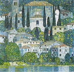Klimt - Kościół w Cassone - 1913