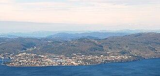 Knarvik - View of the village (looking north)