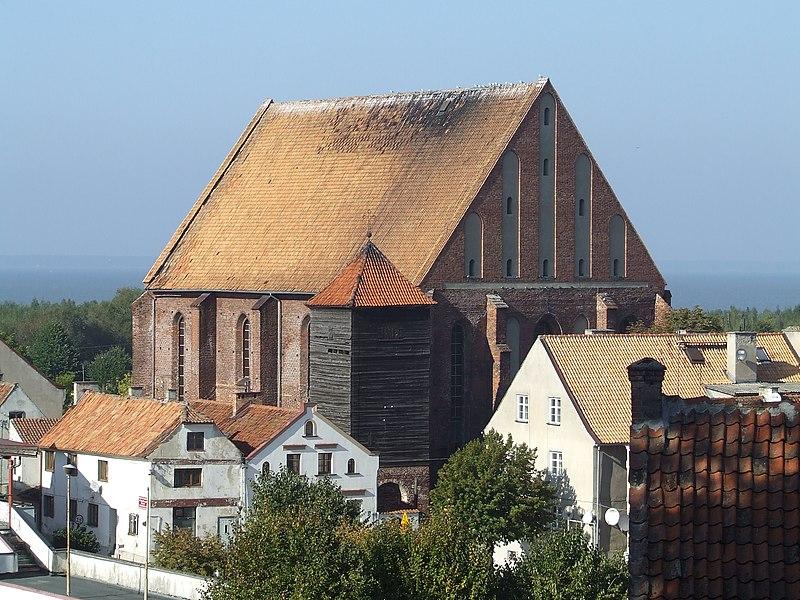 File:Kościół par. p.w. św. Mikołaja i dzwonnica, Frombork (2).jpg