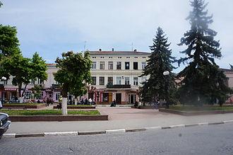 Kolomyia - Market Square in Kolomyja