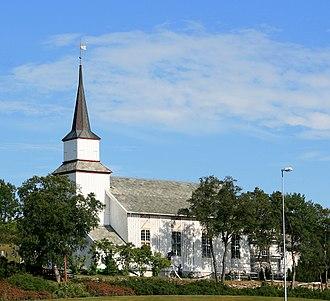 Kolvereid - View of the church in Kolvereid