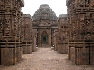 East India - Konark Sun Temple built by the Eastern Ganga dynasty is a UNESCO World Heritage Site in Odisha
