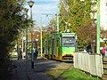 Konstal 105Na na linii 8 nr taborowy 134 w Poznaniu - listopad 2020.jpg