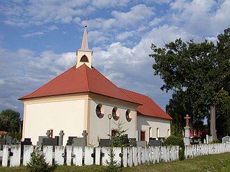 Veľké Orvište - Church of the Assumption of the Virgin Mary