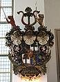 Kungsholms kyrka, Robert Lichtones begravningsvapen.JPG
