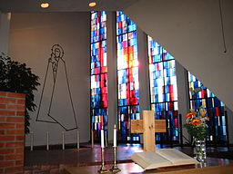 Interiør kirkerummet