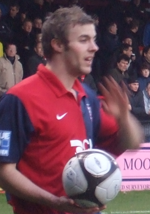 Kyle Critchell - Critchell playing for York City in 2009