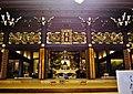 Kyoto Higashi Hongan-ji Gründerhalle Innen 2.jpg
