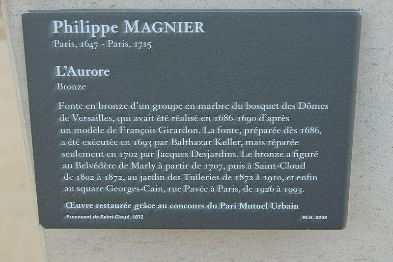 File l 39 aurore philippe magnier louvre - Aurore philippe ...