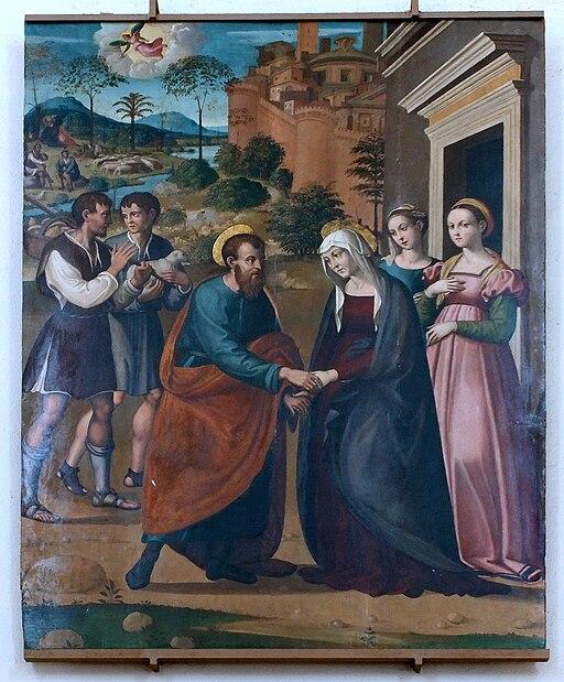 L'Incontro di San Gioacchino e Sant'Anna alla Porta Aurea