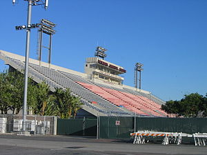 Long Beach City College - Veterans Memorial Stadium was acquired by the school in 1987 and has since been renovated
