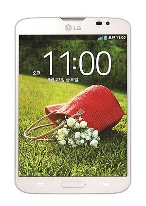 LG Vu 3 - Image: LG Vu 3 (White)