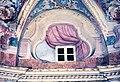 La Cappelletta, 1983, la finestrella dalla camera dei custodi, sopra la sacrestia.jpg