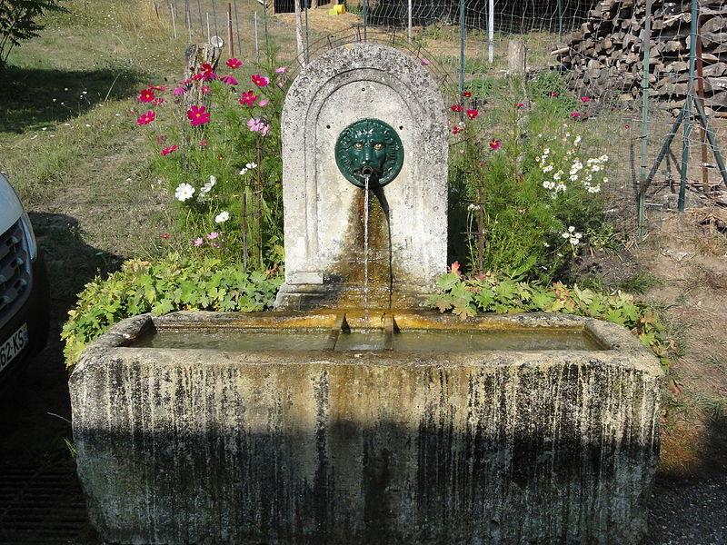 Laneuveville-derrière-Foug (Meurthe-et-M.) fontaine A