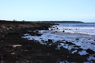 La Perouse Bay bay in Maui County, United States of America
