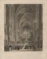 La sainte Chapelle de Paris, Inaugurée pour la Cérémonie de l'Institution de la Magistrature (3 Novembre 1849).png