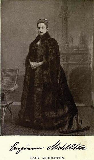 Frederick Dobson Middleton - Lady Marie Cecile Eugenie Middleton
