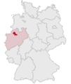 Lage des Kreises Coesfeld in Deutschland.PNG