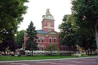 LaGrange County, Indiana - Image: Lagrange indiana courthouse