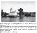 Lake Ontario's Telegraph Island lighthouse.png