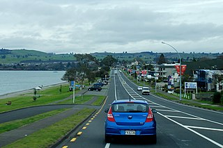 Taupo Central Suburb in Taupo District, New Zealand