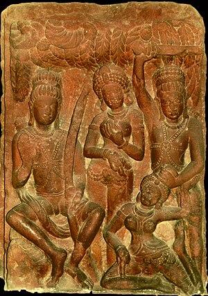 Ramcharitmanas - Scene Ramayana, Gupta art