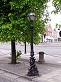Lamp post on ST Georges Plateau Liverpool.JPG