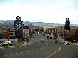 Downtown Lander, 2008