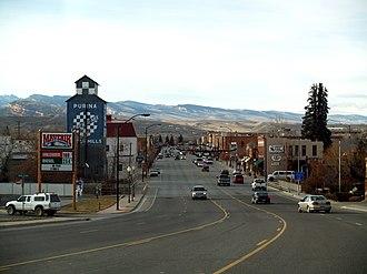 Lander, Wyoming - Downtown Lander, 2008
