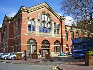 Lapworth Museum of Geology - Entrance to the Lapworth Museum