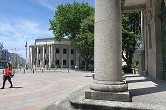 Largo das Dores - Largo das Dores. Palácio da Justiça.