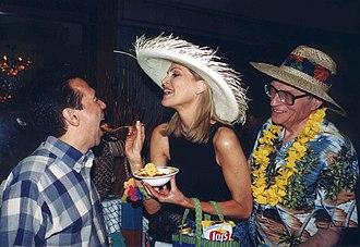 Gilbert Gottfried - Gottfried fed by Larry King's seventh wife, Shawn Southwick