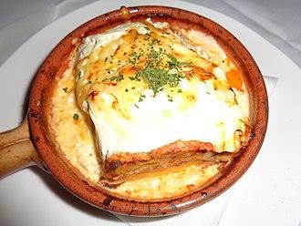 Lasagne - Image: Lasagne u Čakovcu