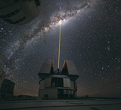 Laser Towards Milky Ways Centre