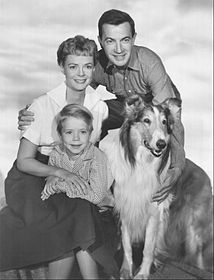 Lassie 1960 cast photo.JPG