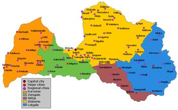 Cultural regions of Latvia Wikipedia