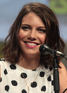 Cohan at the 2014 San Diego Comic-Con International