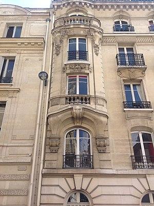 Jules Lavirotte - Image: Lavirotte 151 rue de Grenelle facade