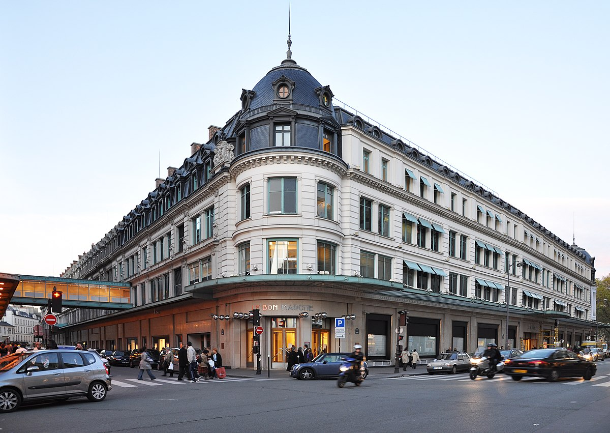 bon marché paris magasin