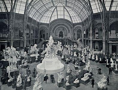 Paris architecture of the belle poque wikipedia for Salon exposition paris