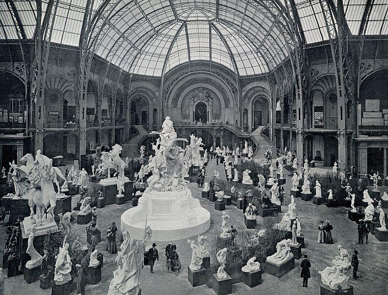 File le grand palais l 39 exposition de sculpture wikimedia commons - Expo le grand palais ...
