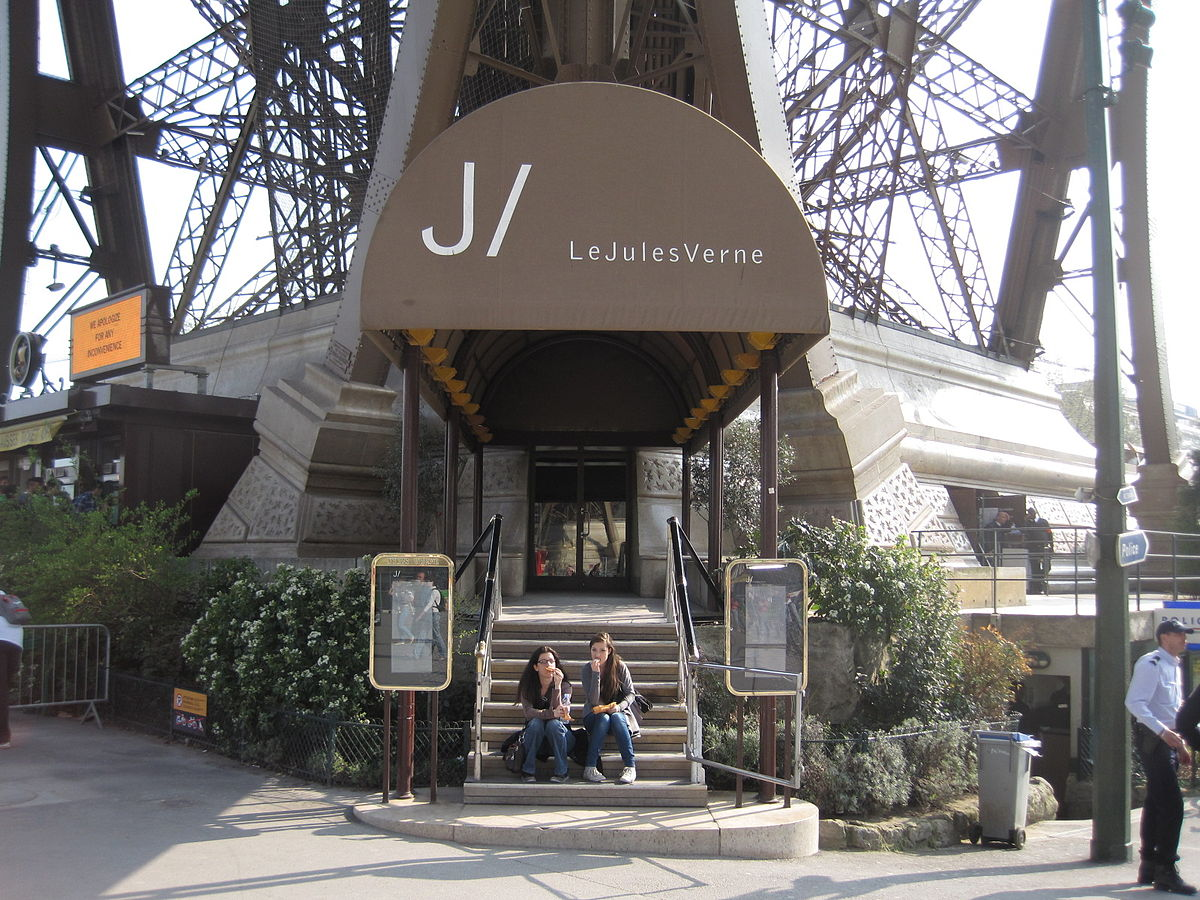 Jules Verne Restaurant Tour Eiffel Prix