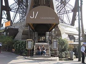 """Résultat de recherche d'images pour """"restaurant Jules Verne de la Tour Eiffel"""""""