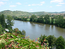 The Lot river at Cahors