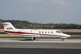 Learjet 35A taxiing.jpg